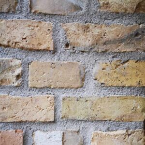 Gamle rensede mursten
