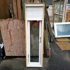 Trævindue, 40x145cm