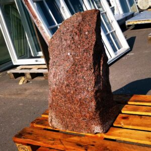 Rød granit natursten