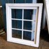 Plast vindue med sprosser